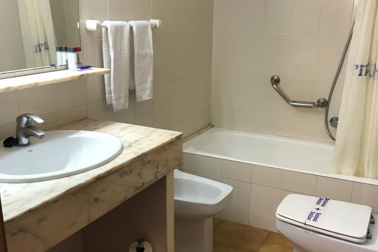Baño habitación individual