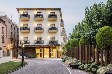 Entrada Hotel Balneari Termes Victòria Caldes de Montbui